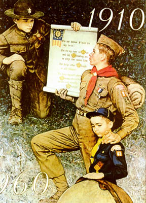 Rompedas Norman Rockwell And Boy Scouts Of America